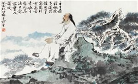 fan-zeng-曹雪芹像-(portrait-of-cao-xueqin)